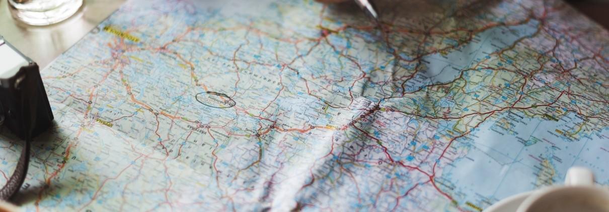 Planung von Route