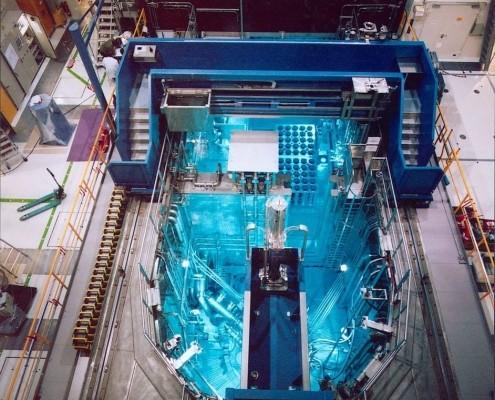 Das Reaktorbecken des FRM II
