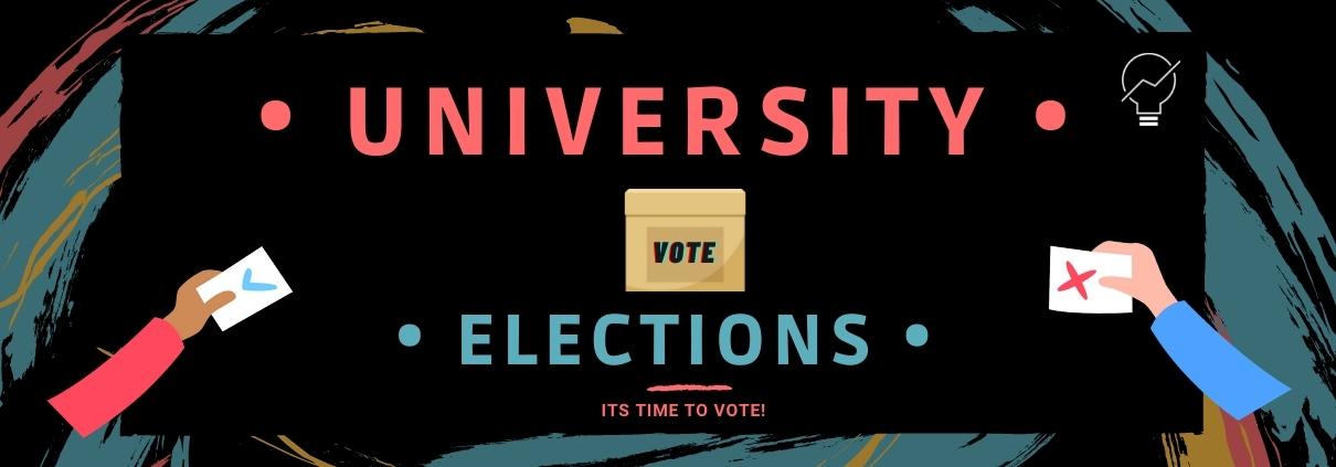 University Elections Banner